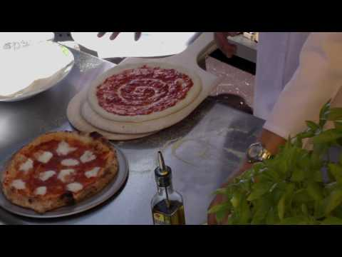 Making a Brick Oven Pizza from Scratch - Video 5 - Making a Margarita Pizza