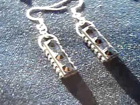 Circuit Board Earrings (2)