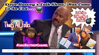 Steve Harvey's Talk Show | Has Come To An End & Marjorie's Ex Husband Maybe Working On A Memoir