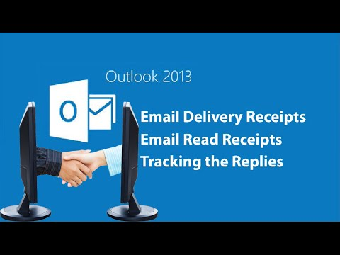 📧Outlook 2013 Email Read Receipts🤓
