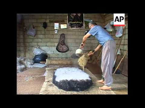 The ancient art of felt rug making