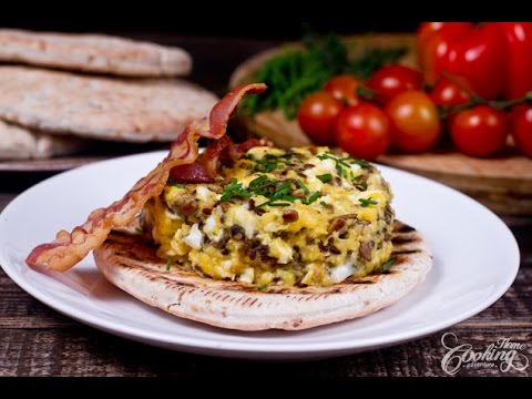 Scrambled Eggs with Sunflower Seeds Recipe