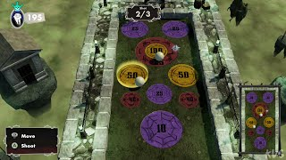 The Addams Family: Mansion Mayhem - Kooky Curling (Mini Games) - Gameplay (PC UHD) [4K60FPS]