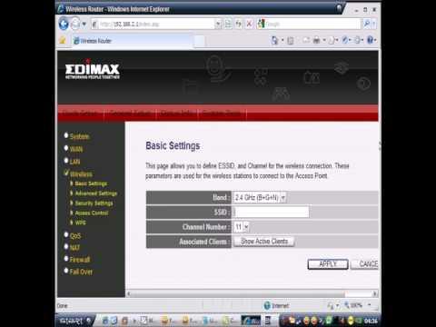 EDIMAX 3g 6200n ssid changing... security  setting