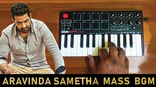 Aravinda sametha - Home Coming Bgm   Cover By Raj bharath   #JrNTR  #SSThaman