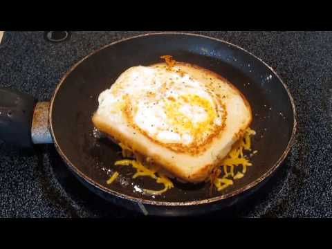 Grilled Egg and Cheese Sandwich with Sausage Gravy - PoorMansGourmet