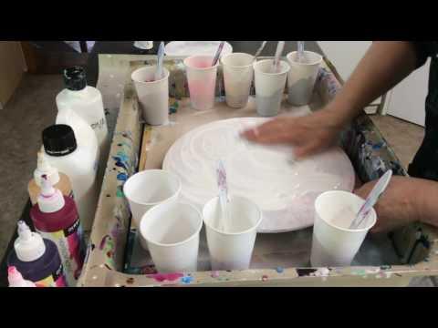 Flow Acrylics & PVA   Demo