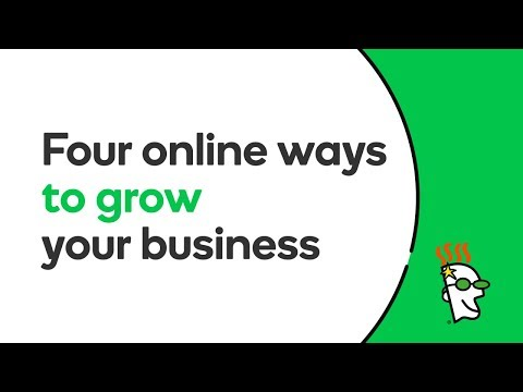 Four Online Ways to Grow Your Business | GoDaddy