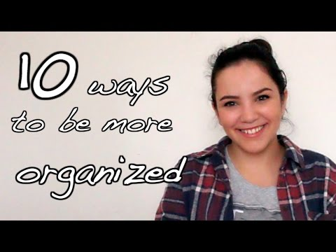 How to Stay Organized This Year & Start the Semester Right - School Tips Saturday | Laurie Martel