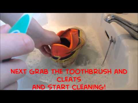 How To Clean Your Football/Soccer Cleats