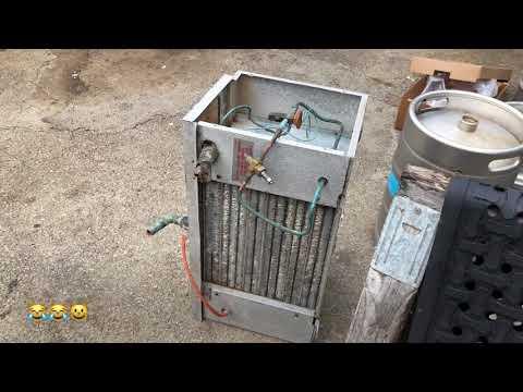 Convert walk-in freezer to refrigerator