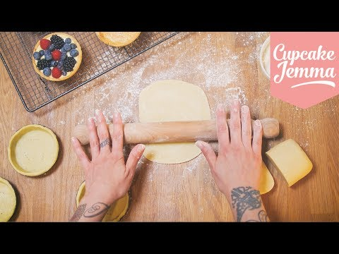 How to make The Best Shortcrust Pastry AND Blind Bake a Pie/Tart Shell | Cupcake Jemma
