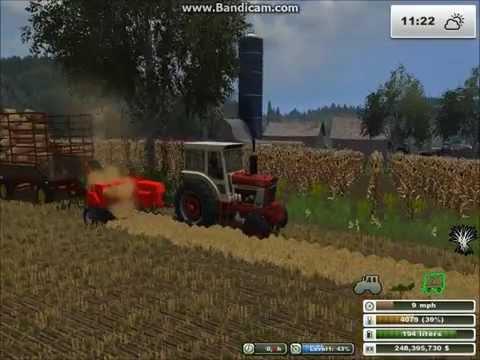 Farming Simulator 2013 - American International Harvester Square Baling and Silage