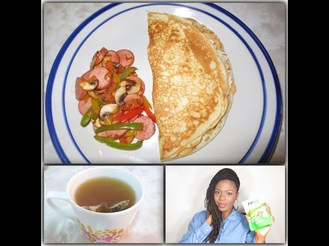 Breakfast with Jungle Barbie featuring FitTea