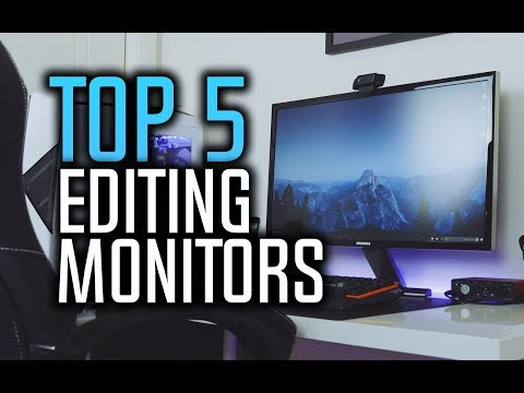 ▶️ Best Monitors For Photo Editing in 2018!