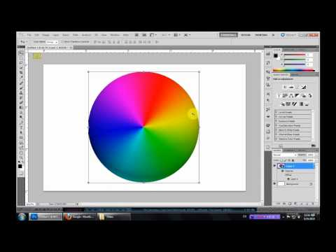 Making Color Wheel with Photoshop CS5