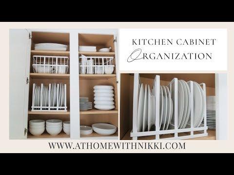 KITCHEN CABINET ORGANIZATION | Organize With Me