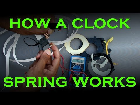 Clock Spring Replacement - Toyota / Lexus