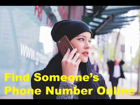 How to Find Someone's Phone Number Online