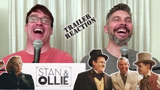 Stan & Ollie Official Trailer REACTION!!!