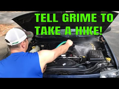 How To Clean and Degrease Your Car Engine