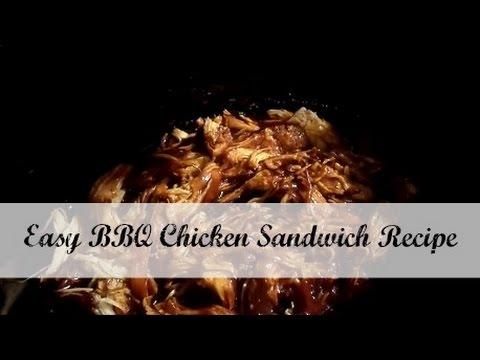 Crock Pot Cooking {BBQ chicken sandwiches}