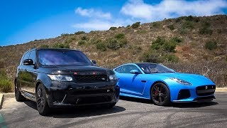 SHOWDOWN: Jaguar SVR vs Range Rover SVR