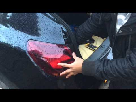 Changing Astra J Rear Headlight Clusters
