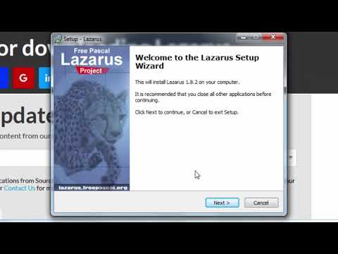 How to Install Lazarus - Cross-platform IDE for Pascal