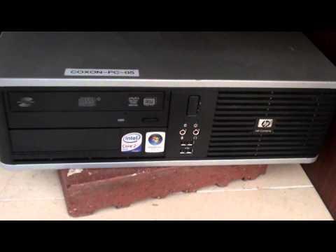 HP Compaq Desktop: Computer Keeps Making 5 Beep Sound