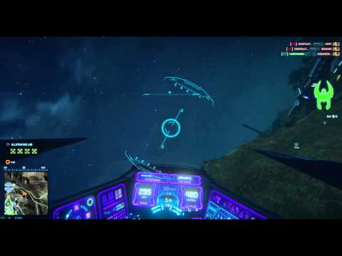 Enjoying Planetside 2 - Learning to fly a Scythe