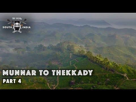 Munnar To Thekkady - South India Bike Tour - Part 4