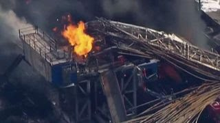 5 workers missing after Oklahoma drilling rig explodes