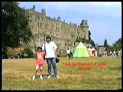 Visit To Warwick Castle England-1999