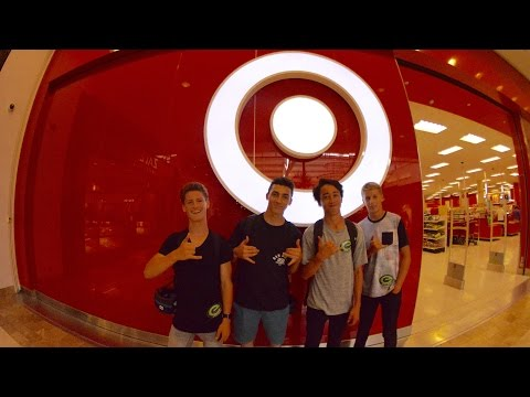 TRYING TO GET KICKED OUT OF TARGET (BUILDING FORTS!)