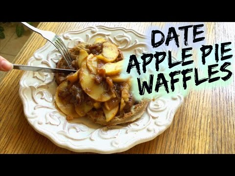 DATE CINNAMON APPLE PIE TOPPING RECIPE (For waffles, oatmeal, french toast, etc)