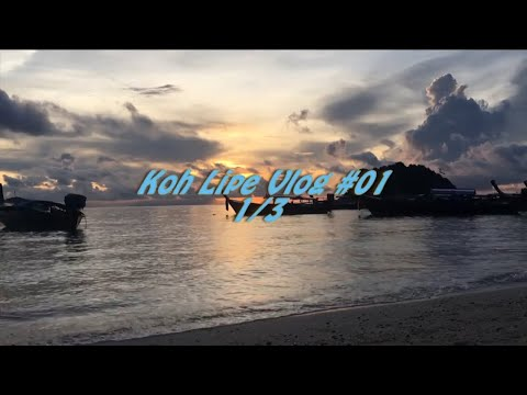 Trip to Koh Lipe Asia Maldives Vlog#01-1/3 Malaysia Kuala Lumpur - Langkawi - Thailand Koh Lipe