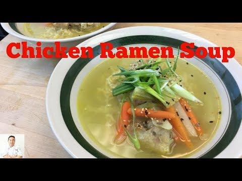 Chicken Ramen Soup (Simple)