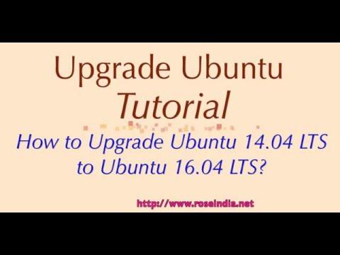 How to Upgrade Ubuntu 14.04 LTS to Ubuntu 16.04 LTS?