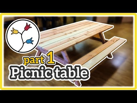 YOU can make this DIY picnic table – How-to (part 1 of 2)