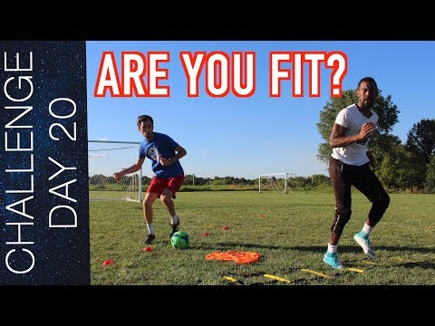 HOW TO BUILD STAMINA AND ENDURANCE IN SOCCER - DAY 20