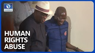Human Rights Abuse: Oshiomhole, Wike Banter Words