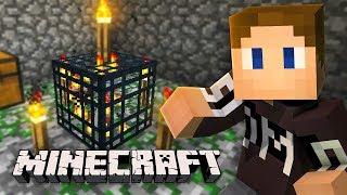 WE FOUND A SKELETON SPAWNER (Minecraft)
