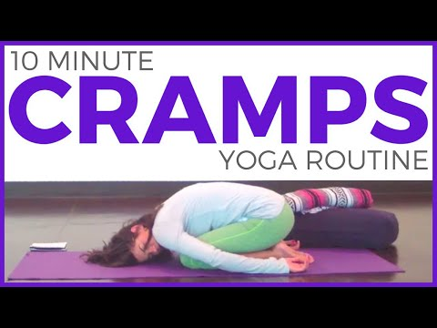 15 minute Yoga for During Your Period   Yoga for Menstrual Cramps