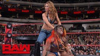 Nia Jax & Ember Moon vs. Mickie James & Alicia Fox: Raw, Sept. 17, 2018