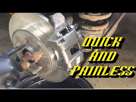 2002-2010 Ford Explorer: Rear Brake Pads and Rotors Replacement