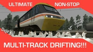 ULTIMATE NON-STOP MULTI-TRACK DRIFTING (Deja Vu! and goats clipping point)