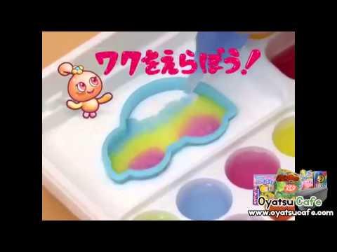 Kracie Popin Cookin Oekaki Gummy Land Kit - Japanese DIY Candy - www.OyatsuCafe.com