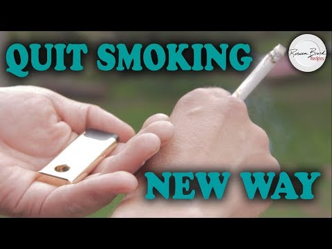 How to Quit Smoking with Filtrim | New Device BEST WAY - No Drugs |