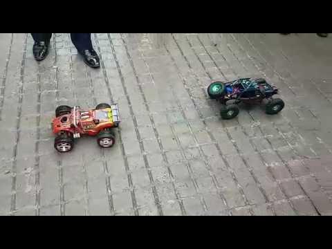 WLToys K949 unfair competition :)